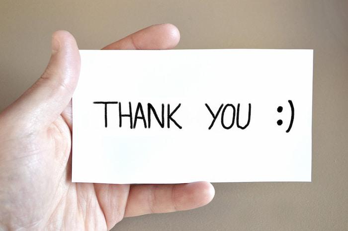 ringraziamenti